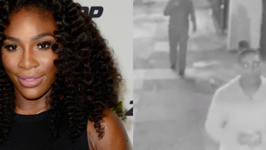 Serena Williams chases down her phone thief
