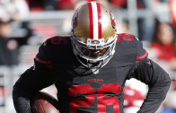 49ers' Tramaine Brock drops INT right in the bread basket