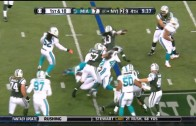 Chris Ivory breaks an unreal amount of tackles for the TD