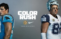 Cowboys & Panthers unveil Nike Color Rush uniforms for Thanksgiving
