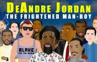 "DeAndre Jordan is ""THE FRIGHTENED MAN-BOY"" in animated cartoon"