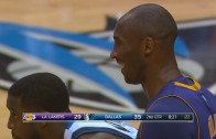 Dirk Nowitzki takes Kobe Bryant to school & makes him laugh over it