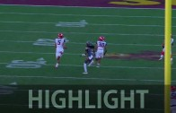 Ken Griffey Jr.'s son Trey Griffey takes off for 95-yard TD