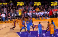 Kobe Bryant's air balls get the NBA Jam treatment
