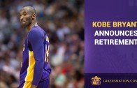 """Kobe Bryant announces his retirement with """"Dear Basketball"""" letter"""