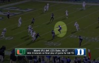 Miami's game-winning TD shouldn't have counted