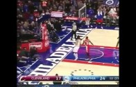 "Nerlens Noel tries out for ""Shaqin A Fool"" with this turnover"