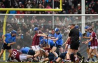 """Massive brawl in the sport of """"Hurling"""" at Fenway Park"""