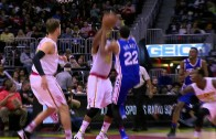 76ers Richaun Holmes introduces himself to the world with this dunk