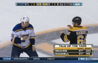 """Boston Bruins announcer sings """"Merry Christmas"""" during NHL fight"""