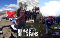 """Buffalo Bills fans """"year in review"""" of tailgating shenanigans"""