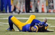 Janoris Jenkins gets blown up by his own teammate