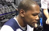 "Kevin Durant says the media has treated Kobe Bryant like ""shit"""