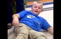 Kid from school for homeless children collapses after meeting Kevin Durant