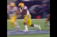 Leonard Fournette puts on a trucking display vs. Texas Tech in Texas Bowl