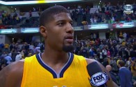 """Paul George rips the zebras says """"NBA has to look at shit like this"""""""