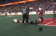 Sweet Lacrosse goal by Minnesota Swarm rookie Miles Thompson