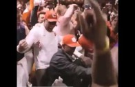 Clemson with an epic locker room celebration