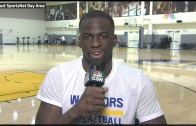 Draymond Green's mom interrupts interview to tell him he's an All Star