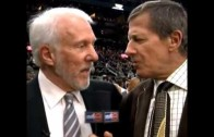 Gregg Popovich with another classic segment with Craig Sager