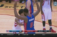 Houston Rockets foul Andre Drummond 5 straight times