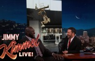 Jimmy Kimmel surprises Shaq with news of his Staples Center statue