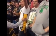"""Lakers fan gets thrown out of TD Garden for chanting """"Kobe Bryant"""""""