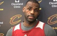 LeBron James speaks on the firing of David Blatt