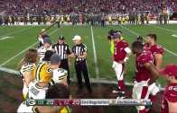 OT Coin Toss Chaos: Coin doesn't flip on refs toss