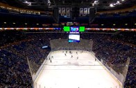 "Rams fans chant ""Kroenke Sucks"" at St. Louis Blues game"