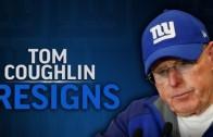 Tom Coughlin final message causes Eli Manning to get emotional