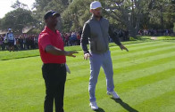 "Justin Timberlake & Alfonso ""Carlton"" Ribeiro do the Carlton dance"