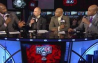 """Charles Barkley calls Kevin Garnett a """"borderline Hall of Famer"""" on Inside The NBA"""