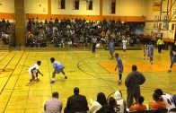 5'5″ high school guard Melvin Lee with a ridiculous slam