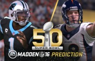 Carolina Panthers win 24-20 in Super Bowl 50 according to Madden