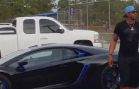 Yoenis Cespedes pulls up to Mets camp in a Lamborghini this time