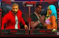 Drake vs. Meek Mill wrestling match in WWE 2K16