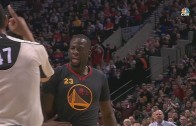 Draymond Green gets fired up & tossed from game