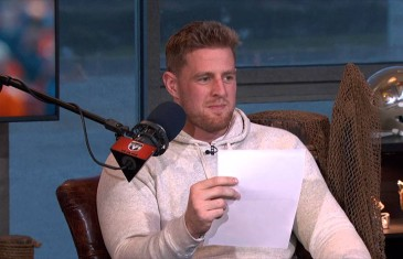 JJ Watt reads his negative draft review