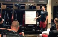 Diamondbacks pitcher Josh Collmenter teaches physics to the boys