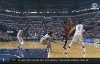 LeBron James drops Jordan Hill & hits the jumper