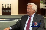 Patriots owner Robert Kraft reminds us Brady has 4 rings & two Manning's have two