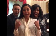 Stephen Curry, Ayesha Curry & Michelle Obama sing & dance