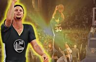 Stephen Curry's game winning shot vs. OKC gets NBA 2K16 treatment
