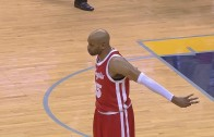 Vince Carter hits full court shot in Memphis