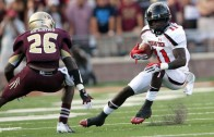 Texas Tech's Jakeem Grant runs reported fastest 40 time ever at 4.10