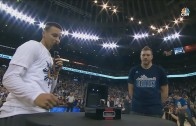 David Lee finally gets his Warriors championship ring after over 70 games