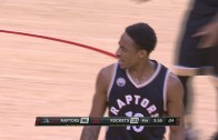 DeMar DeRozan ejected for arguing with refs vs. Rockets