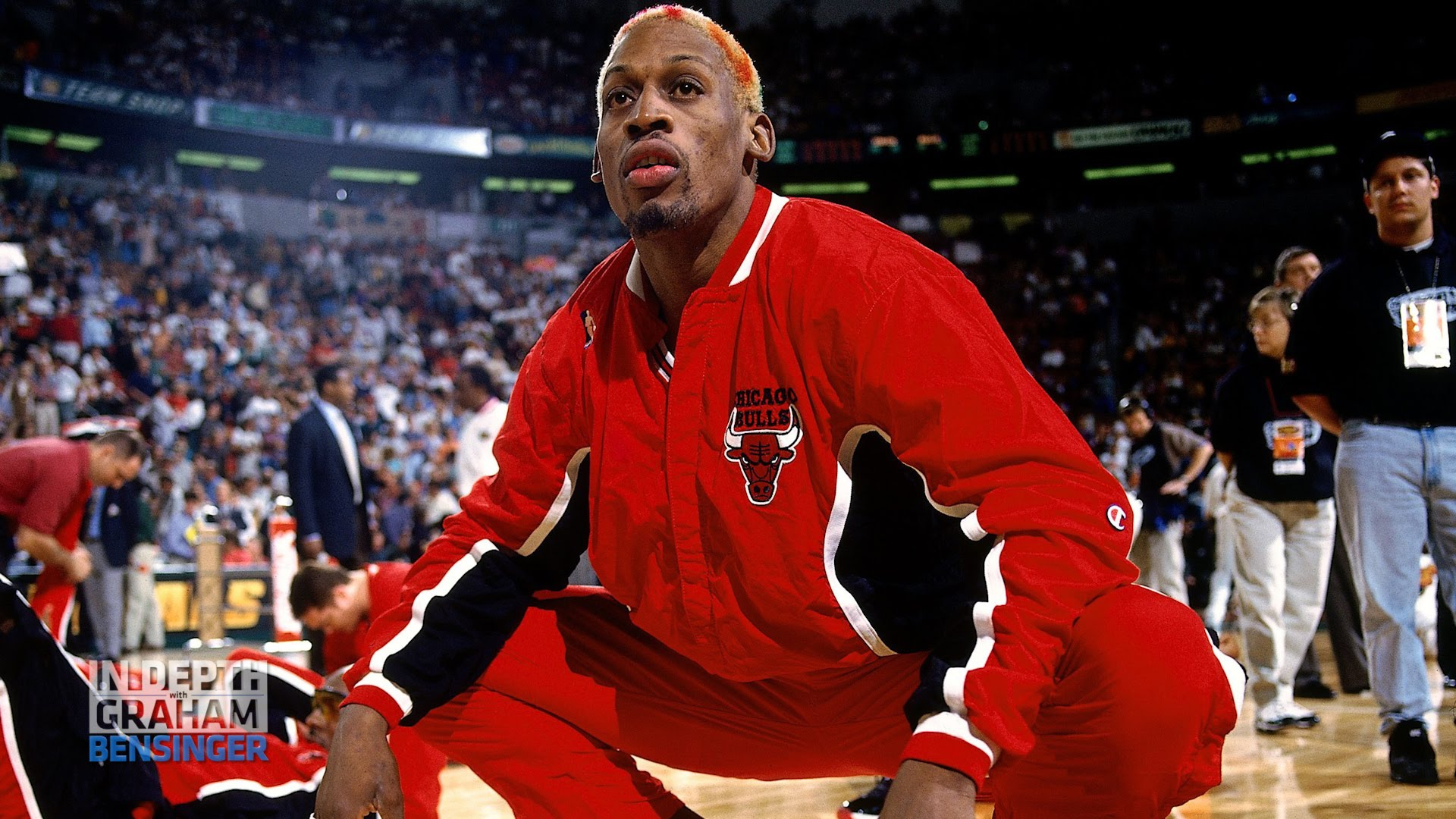 Dennis Rodman says he never talked to Michael Jordan or Scottie Pippen