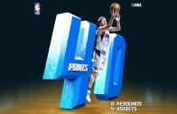 Dirk Nowitzki drops 40 points on the Portland Trailblazers